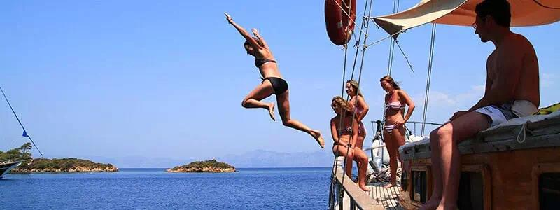 Blue Cruise in Turkey, Marmaris, Fethiye Blue Cruise